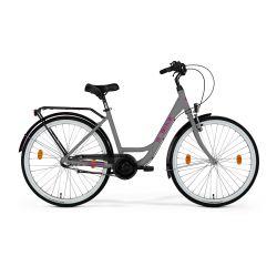 M_Bike CITYLINE 326 GRAY pink 26 2021 rozmiar 46 cm